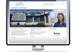 Création site internet Clinique du Berceau