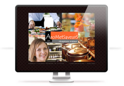 Création site internet AroMetSaveurS
