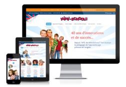 Création site internet responsive Mini-Schools