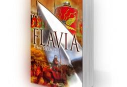 Création de la couverture du livre Flavia