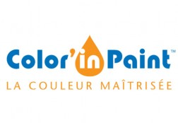 Création du logo Color'In Paint