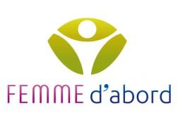 Création logo Femme d'Abord
