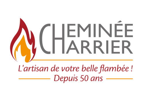 Création logo Cheminée Charrier