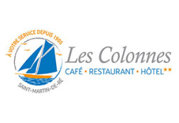 Création logo Hôtel Les Colonnes – Ile de Ré