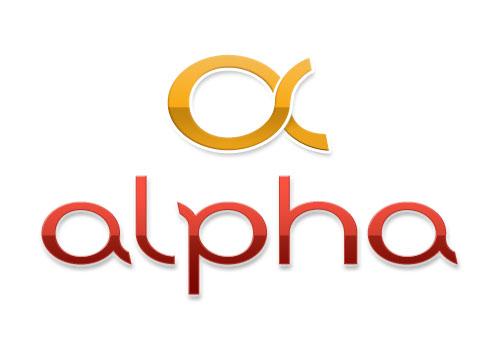 Création logo Alpha Plomberie