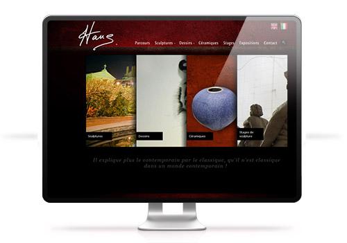 Création site internet Hans Marks