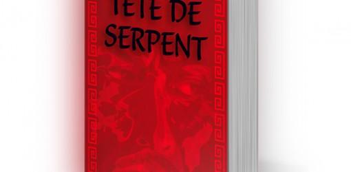 Création de la couverture du livre enfant Tête de serpent