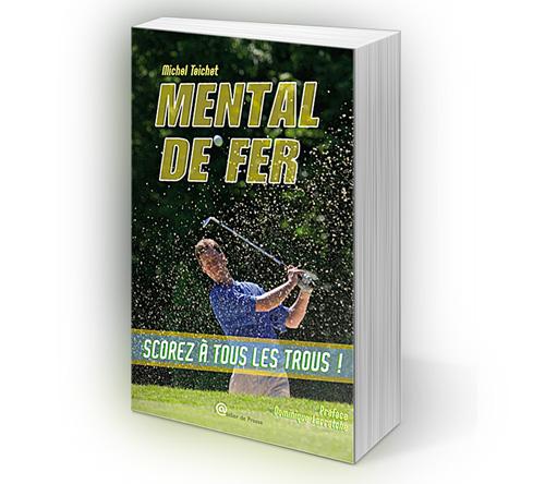 Création de la couverture du livre Mental de fer