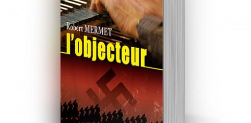 Création de la couverture du livre L'objecteur