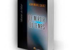 Création de la couverture du livre Le miroir du temps