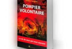 Création de la couverture du livre  Pompier volontaire
