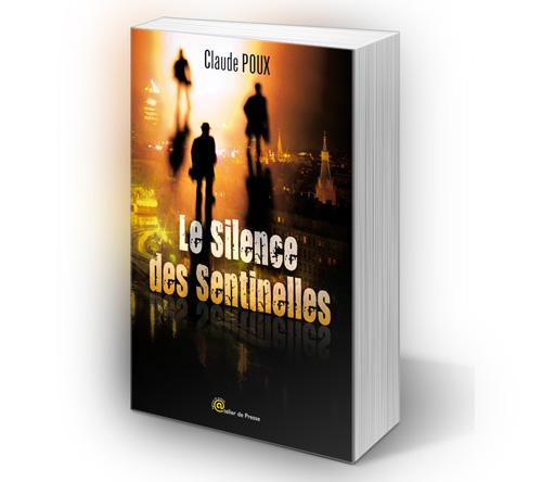 Création couverture du livre Le Silence des Sentinelles