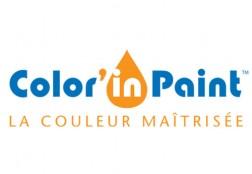 Création du logo Color'In Paint
