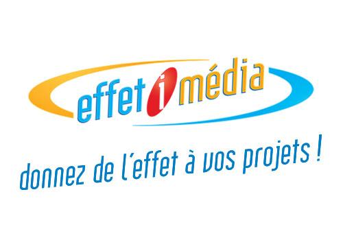 Création du logo Effet i Média